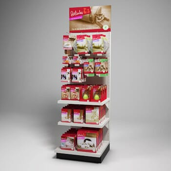 photo-realistic computer-generated rendering of a petlinks endcap